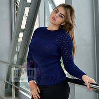 Женский свитер, т.синий
