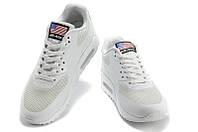 Женские кроссовки Nike Air Max 90 Hyperfuse белые, фото 1