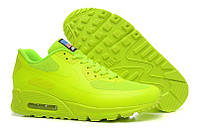 Женские кроссовки Nike Air Max 90 Hyperfuse салатовые, фото 1