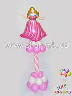 """Колонна """"Принцесса"""" из воздушных шаров"""