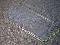 Чехол бампер силиконовый Sony Xperia M4 Aqua Ультратонкий 0.2mm
