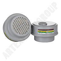 Газопылезащитный фильтр А1В1Е1К1P3  к полумаске Etna