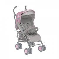 Детская прогулочная коляска-трость Bertoni I'Moove grey pink