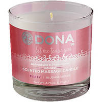 Свеча для массажа DONA SCENTED MASSAGE CANDLE - FLIRTY