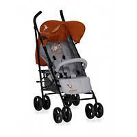 Детская прогулочная коляска-трость Bertoni I'Moove grey orange lorelli