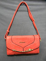 Стильная коралловая женская сумочка