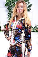 Турецкий велюровый костюм Eze большие размеры