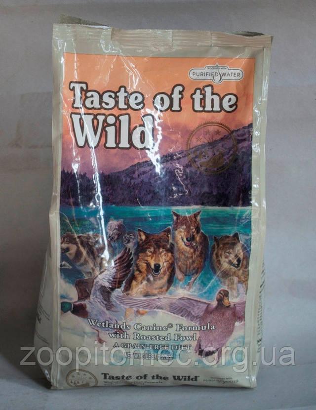 Ветлендз Канин WILD Wetlands Canine Formula 13кг (Holistic) 32/18  утка, перепелка ,индейка