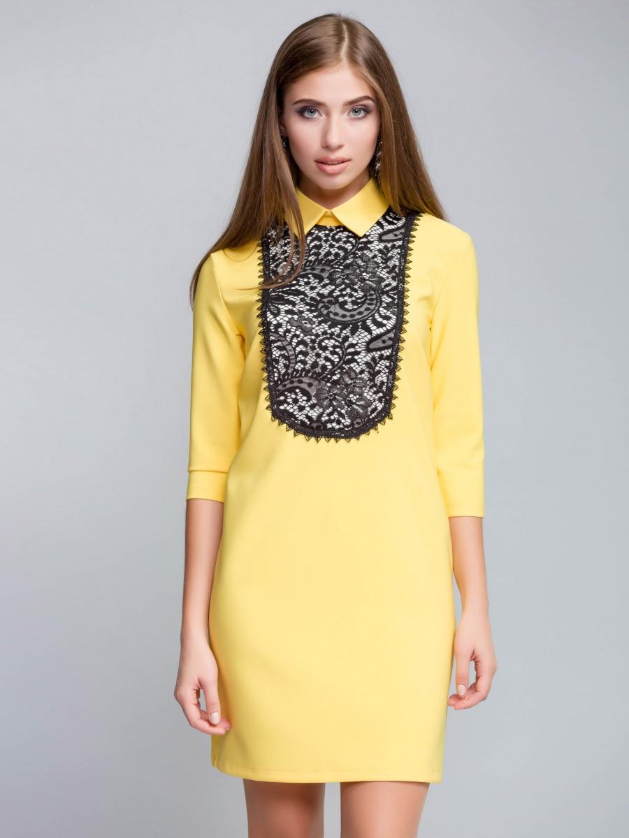 Молодежное женское платье (3 цвета)