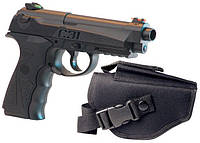 Пневматический пистолет Crosman C31, магазин 18-зарядный, гладкоствольный, калибр 4,5 мм, вес 680 г