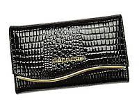 Женский кошелек Gregorio (F101) leather black, фото 1