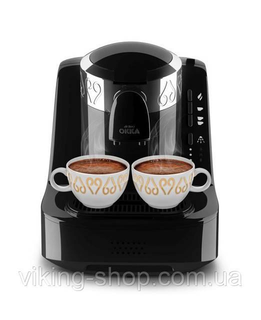 Кофемашина для турецкого кофе ARZUM OKKA Черная Хром