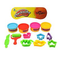 Набор для лепки. Тесто с формами детские QL-D35, набор для малышей. Детское тесто с формами.