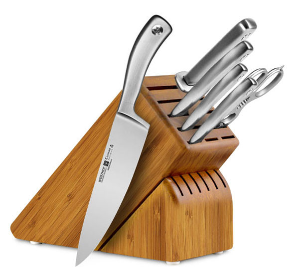 Кухонные ножи и ножницы, подставки