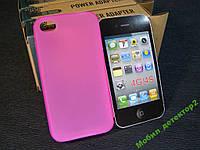 Чехол бампер силиконовый Iphone айфон 4g 4gs