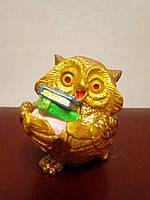 Маленькая сувенирная статуэтка Сова