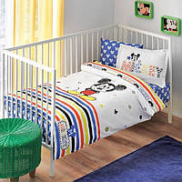 Постельное белье в детскую кроватку ТAC Disney - Mickey Sketch baby