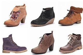 Женские ботинки, полуботинки зимние