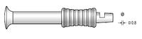 Рукоятка поворотная универсальная (титан. сплав)