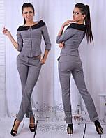 Женский брючный костюм   ткань - костюмка