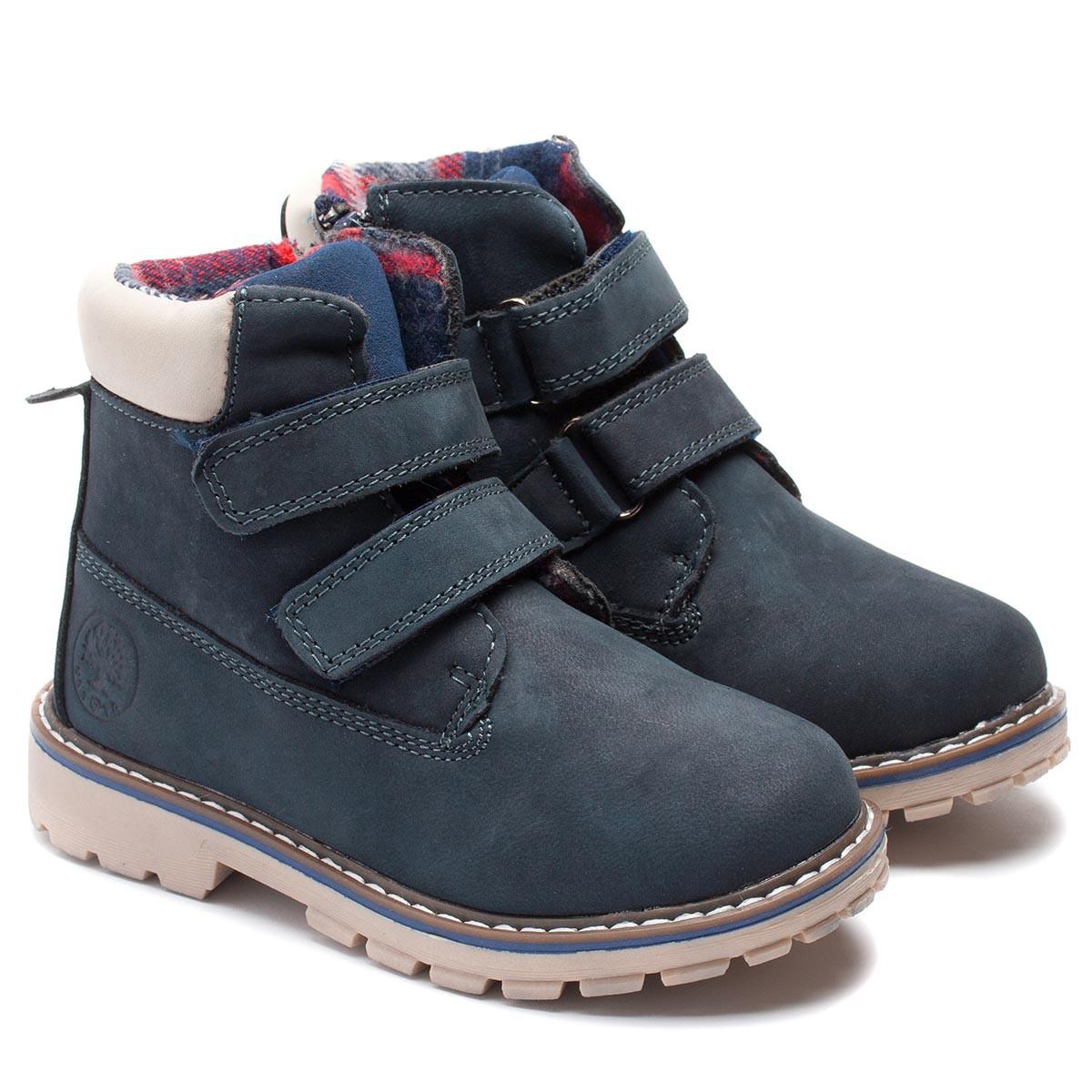Демисезонные ботинки Kid's shoes для мальчика, на липучках, размер 27-32