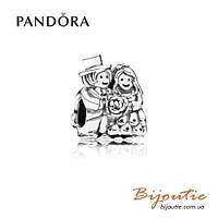 Pandora Шарм ЖЕНИХ И НЕВЕСТА #791116 серебро 925 Пандора оригинал