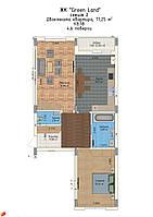 2-кімнатна квартира, 74 кв.м., фото 1