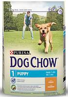 Сухой корм Puppy Chow (Паппи Чау) Для Щенков с курицей 14 кг.