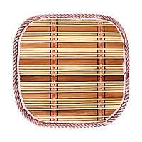 Салфетка бамбуковая под горячее 17x17 см