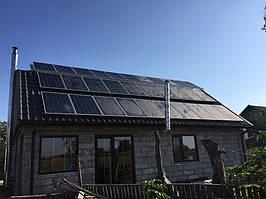 Сонячна мережева електростанція 10кВт, м. Полоне 1