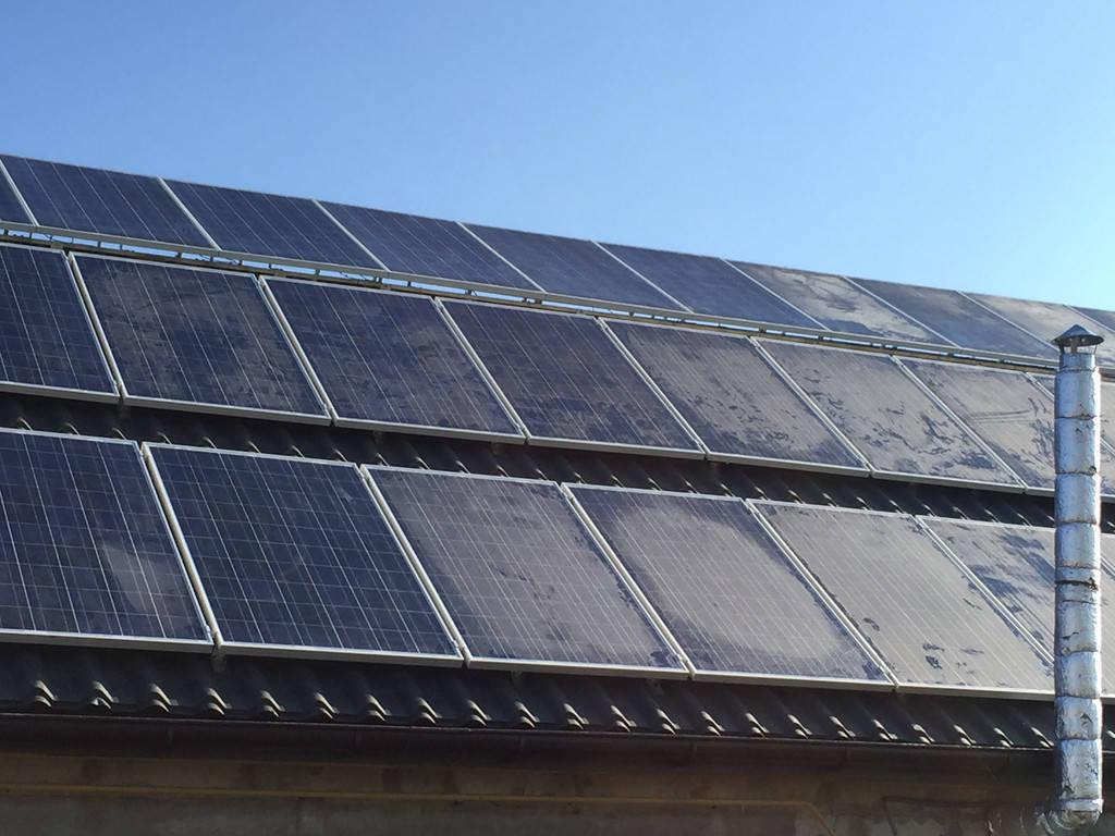 Сонячна мережева електростанція 10кВт, м. Полоне 2