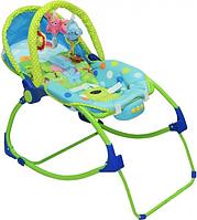 Детский шезлонг - качалка PK 309 для новорожденных, фото 1