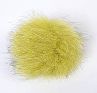 Помпон из натурального меха песца - 29-462