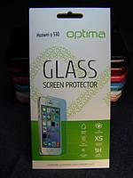 Защитное стекло для Huawei Ascend Y530 закаленное 0.3mm 2.5D 9H
