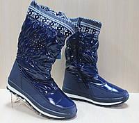 Детские сапоги дутики на девочку, детская зимняя обувь Том.м р.36