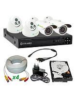 Комплект видеонаблюдения COLARIX Базовый комплекс