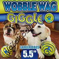 Игрушка мяч для собак Хихикающий мяч Wobble Wag Giggle, фото 1