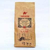 Черный кофе TURCOFFEE  Gold (1кг) молотый (Спец. условия)