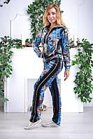 Женский велюровый спортивный костюм Eze, разм 42,44,46,48, фото 1