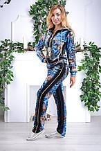 Женский велюровый спортивный костюм Eze, разм 42,44,46,48