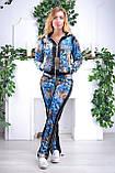Женский велюровый спортивный костюм Eze, разм 42,44,46,48, фото 4