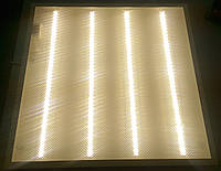 Светодиодная LED панель НАКЛАДНАЯ И ВСТРАИВАЕМАЯ 600х600мм 36Вт PRISMATIC колотый лед 4000К нейтральный свет
