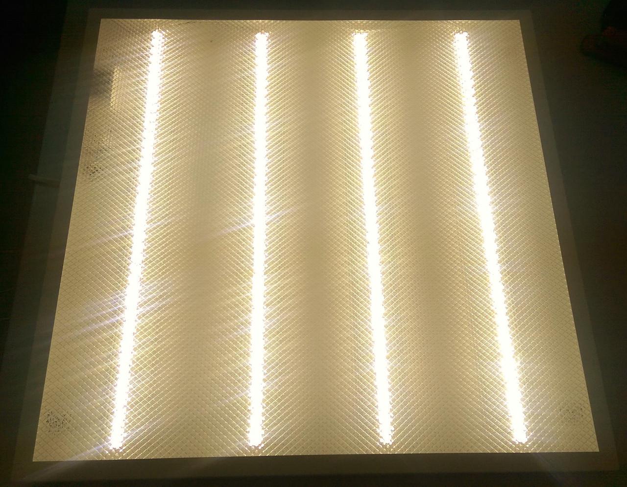 Светодиодная LED панель НАКЛАДНАЯ И ВСТРАИВАЕМАЯ LED-SH-595-20 prismatic 36Вт 4000К 3000Лм