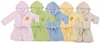 Дитячі махрові халати