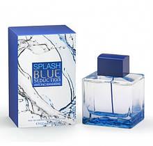Antonio Banderas Splash Blue Seduction for Men туалетная вода 100 ml. (Антонио Бандерас Сплеш Блу Седакшн)