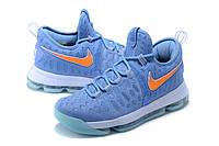 Мужские баскетбольные кроссовки Nike KD 9 (Light Blue), фото 1