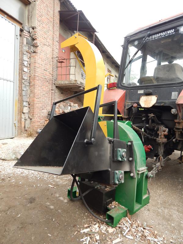 Рубильная машина от ВОМ трактора