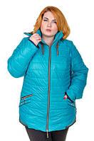 Женская зимняя куртка большого размера Риана (4 цвета), курточка зимняя для полных, дропшиппинг