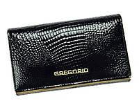 Женский кошелек Gregorio (LL101) leather black, фото 1