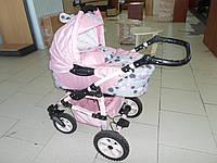 Коляска 2 в 1 Тако Джампер Розовая для принцессы tako jamper
